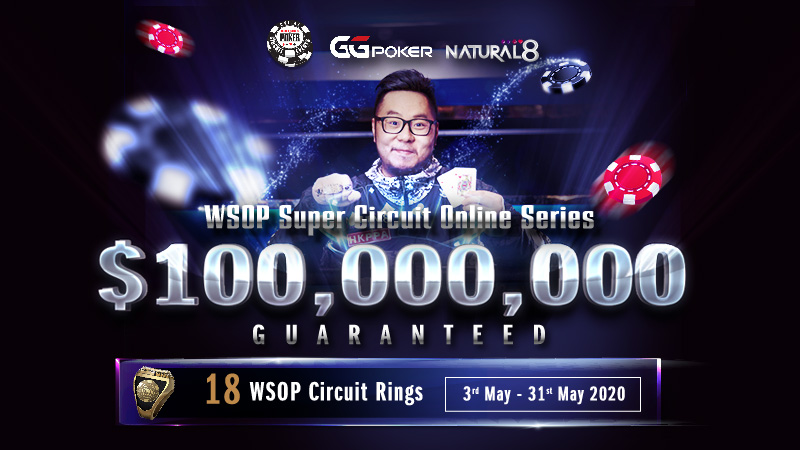 Turn $1 into a WSOP Circuit Ring on Natural8!
