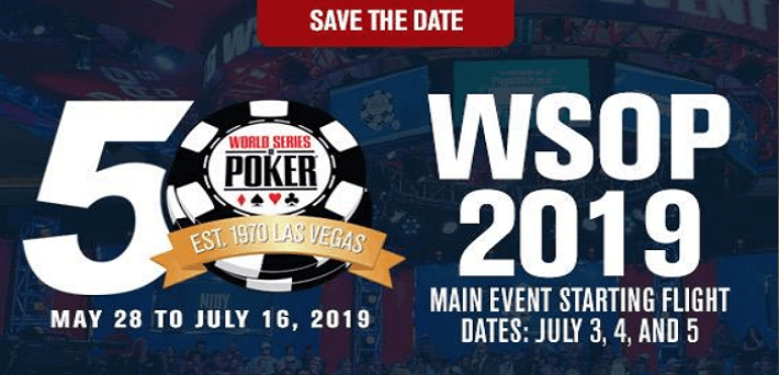 WSOP adds more events to its 50th anniversary line-up
