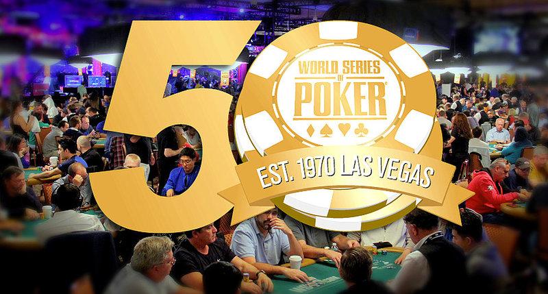 WSOP to celebrate 50th anniversary next year
