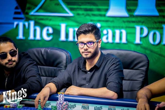 WSOPE Jagdeep Singh progresses from Day 1 of Event #11 PLO