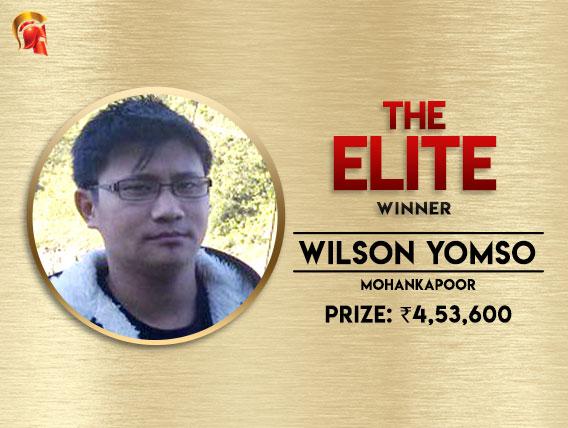 Wilson Yomso ships The Elite on Spartan