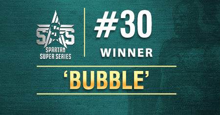 'bubble' takes down SSS Event 30