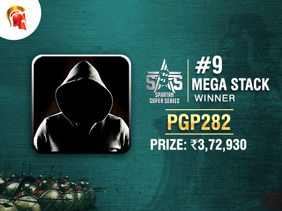 'pgp282' takes down the SSS Mega Stack title
