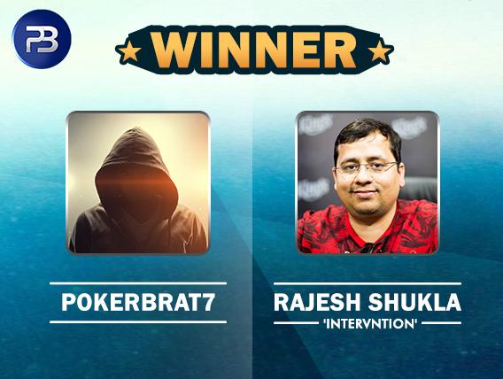 pokerbrat7 and Rajesh Shukla
