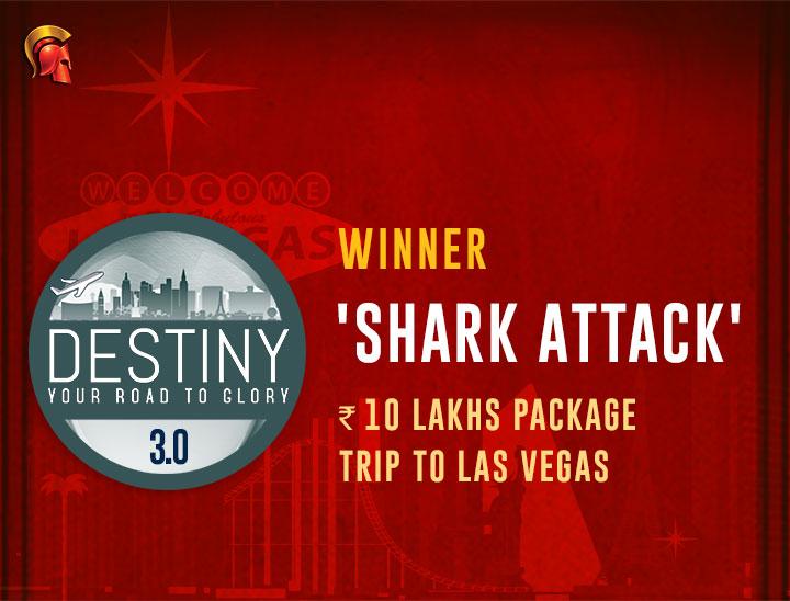 shark attack Destiny Winner