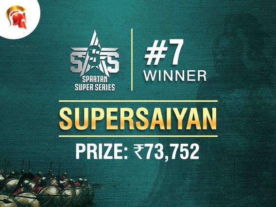 'supersaiyan' claims SSS Event #7