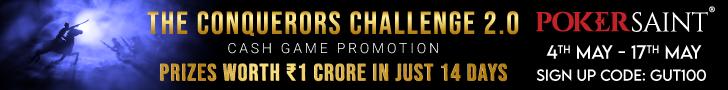 Pokersaint slim banner - Conquerors Challenge 2