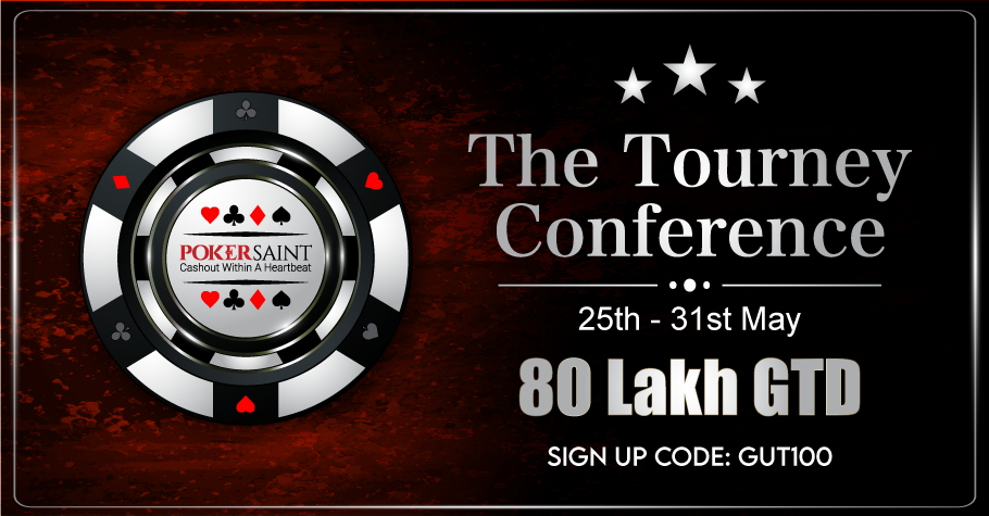 PokerSaint's The Tourney Conference assures INR 80 Lakh!