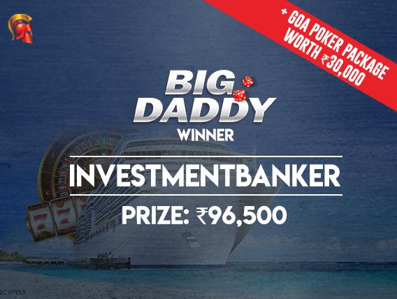 'InvestmentBanker' wins Big Daddy Tournament on Spartan