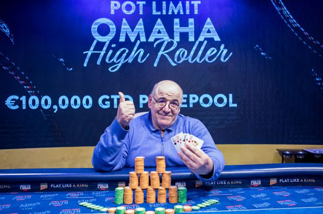 Hairabedian triumphs PLO High Roller in King's Casino after Lockdown