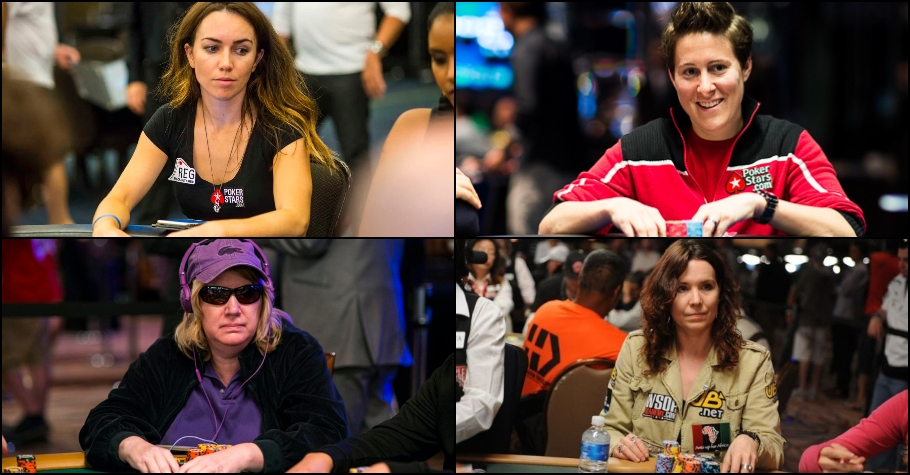 Four Successful International Female Poker Players Of All Time!
