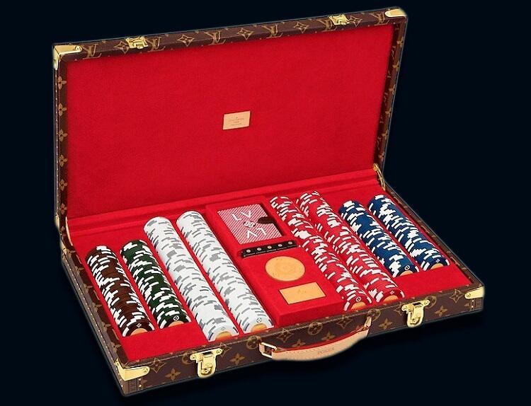 Louis Vuitton introduces poker chip set worth $24,000!