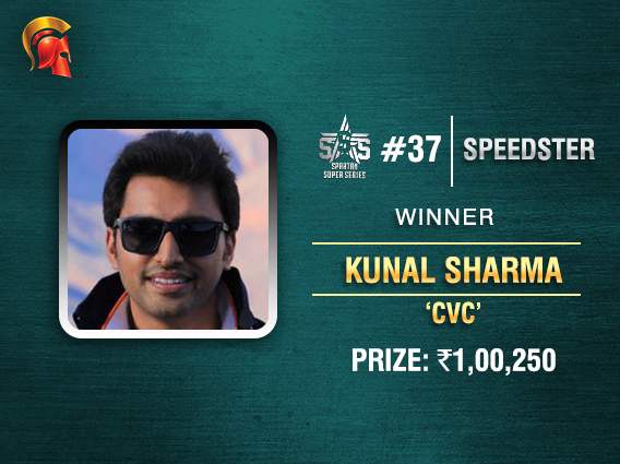 3-way all-in gives Kunal Sharma SSS Event #37 title