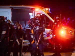 Las Vegas Officer shot outside Circus Circus Casino