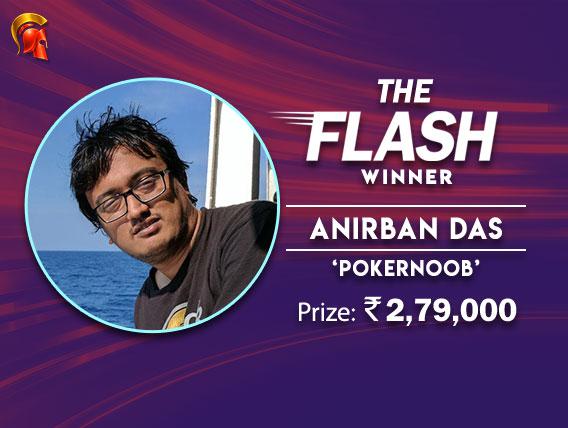 A win for Anirban Das in Spartan's Flash