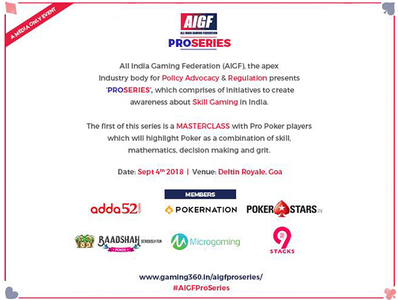 AIGF set to launch 'PRO SERIES' on 4th September