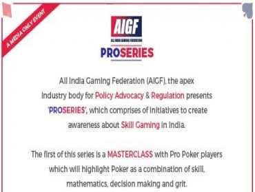 AIGF set to launch 'PRO SERIES' on 4th September1