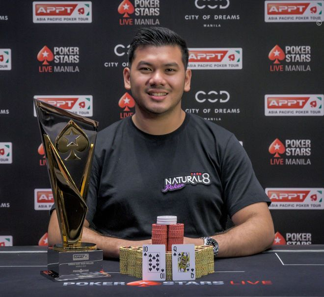 APPT Manila Second Highroller title for Michael Soyza