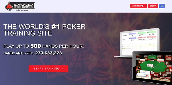 AdvancedPokerTraining - Poker coaching websites