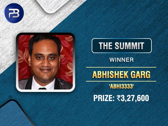 Abhishek Garg is latest to scale The Summit on PokerBaazi