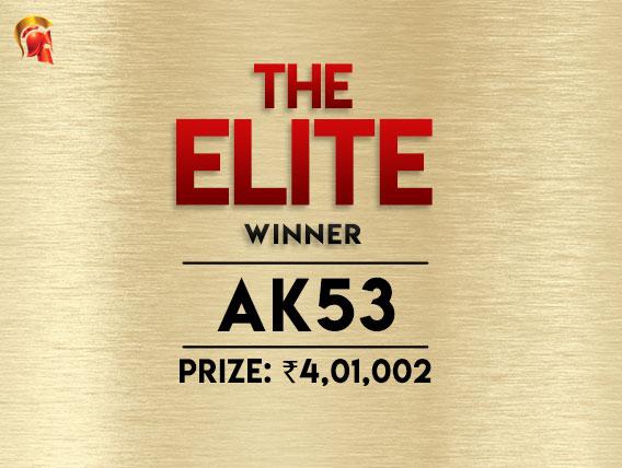 'Ak53' wins the Elite at Spartan