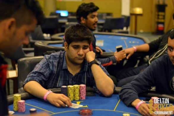 Akshay Nasa leads after Day 1 of the WPT 35k Superstack