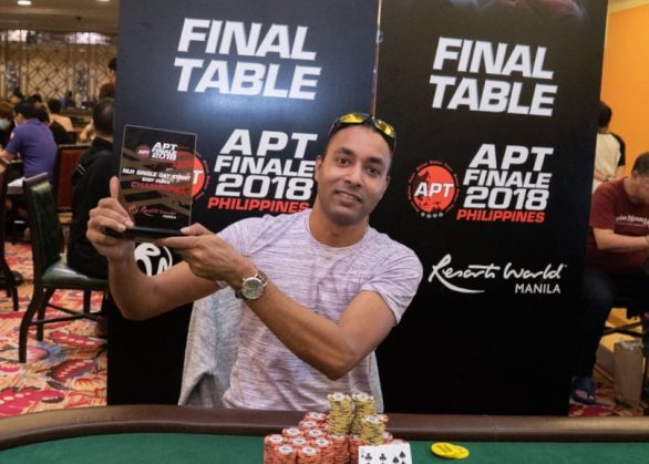 Amanpreet Singh bags a title at APT Finale