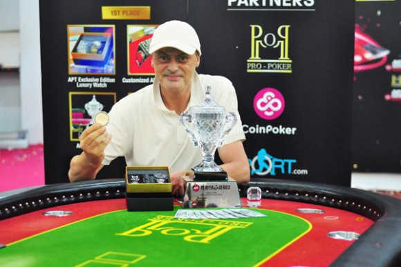Andreas Rauh named Co-Player of APT Vietnam 2018 series