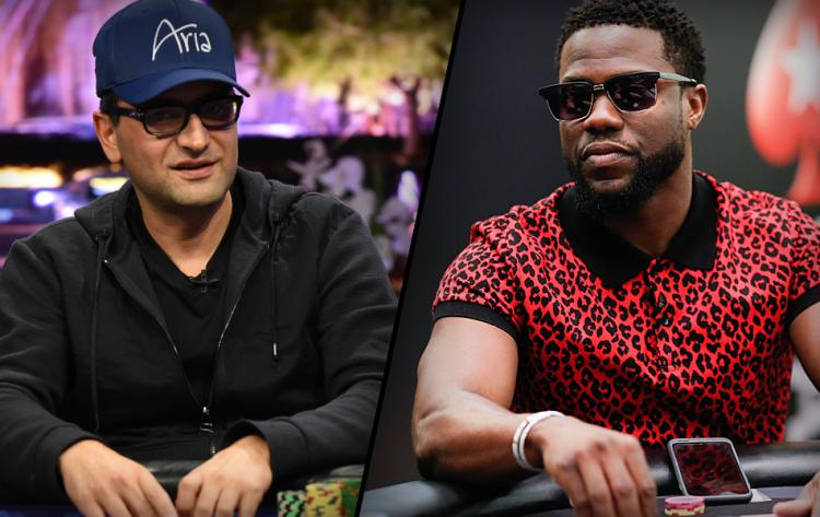 Antonio Esfandiari and Kevin Hart to box in the ring?
