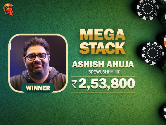 Ashish Ahuja claims another Mega Stack title on Spartan