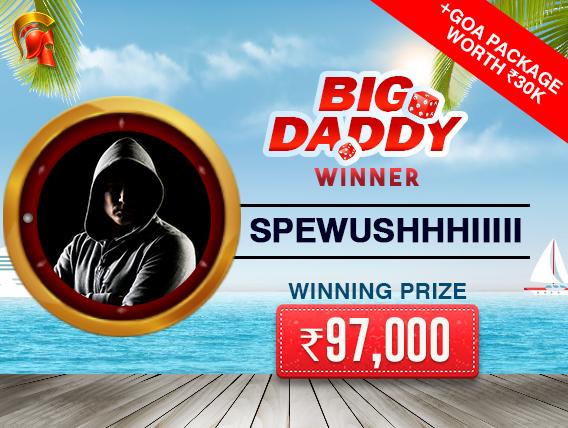 Ashish Ahuja ships Big Daddy tournament on Spartan