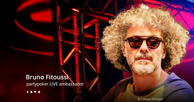 Bruno Fitoussi added to partypoker ambassador list