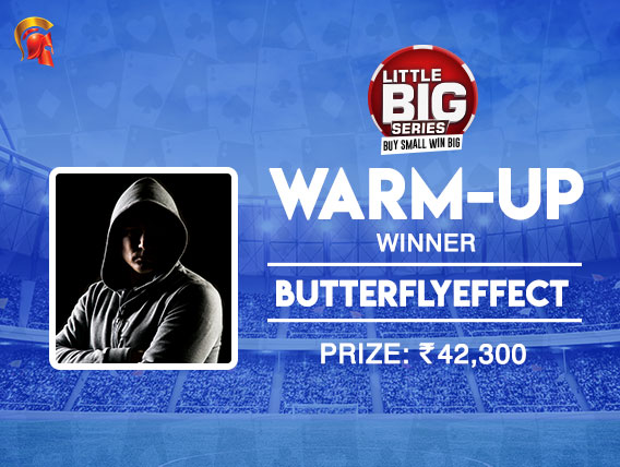 'Butterflyeffect' wins Warmup event at Spartan's LBS