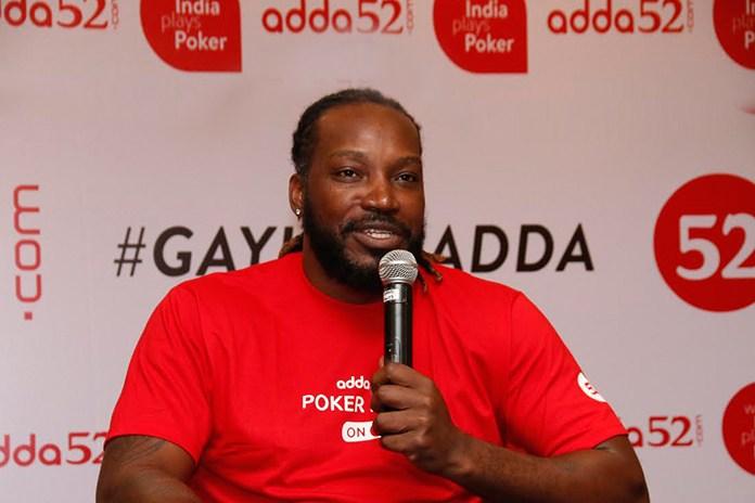 Chris Gayle signed as Adda52 brand ambassador
