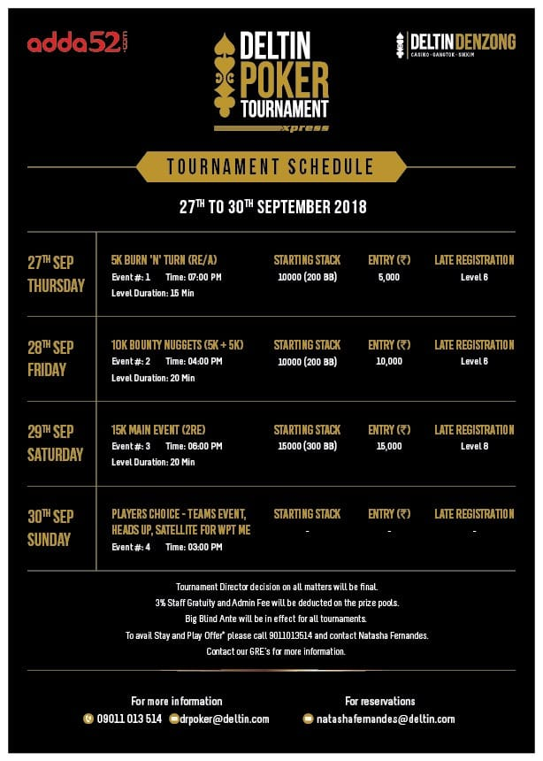 DPT Xpress Series in Sikkim from 27-30 September1