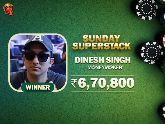 Dinesh Singh wins another Spartan title - Sunday SuperStack