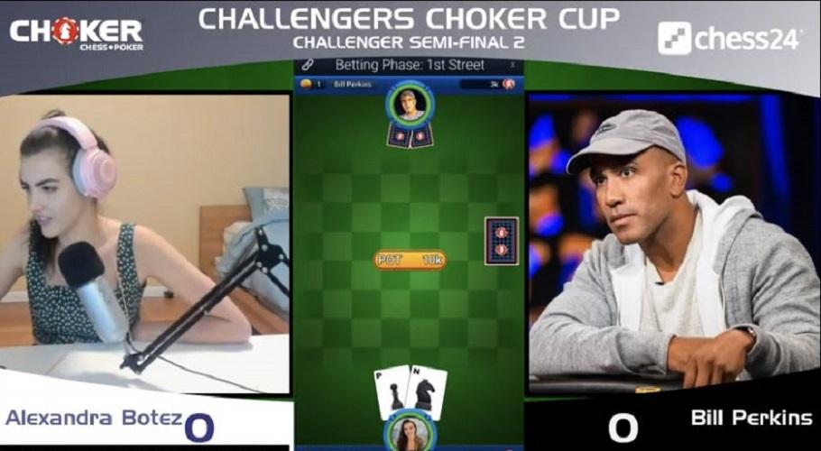 Alexandra Botez Defeats Bill Perkins in Choker Cup Semi-Final