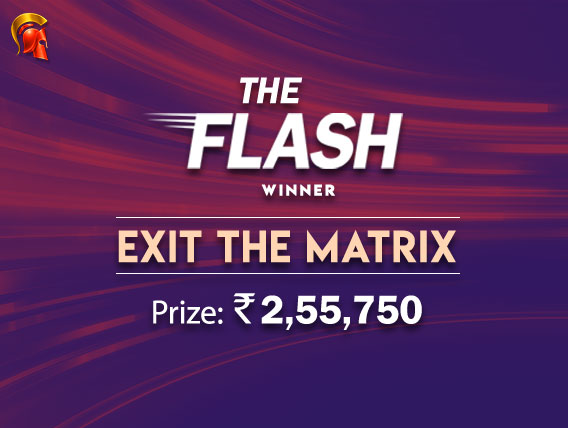 'Exit the Matrix' wins The Flash on Spartan
