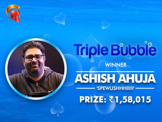 Friends Arjanveer Chadha and Ashish Ahuja chop Triple Bubble