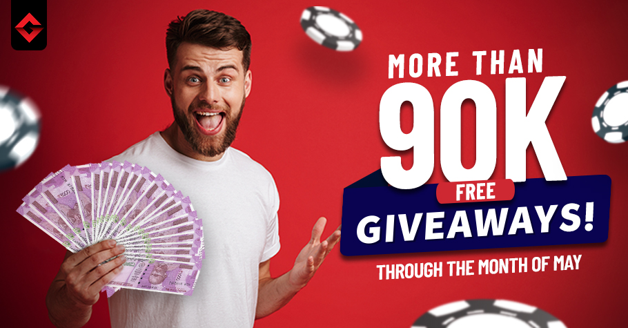 More than INR 90k FREE giveaways! done for Gutshot players in May