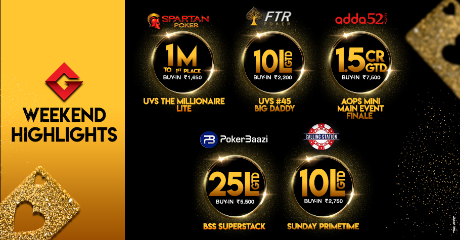AOPS, Millionaire and Much More This Weekend!