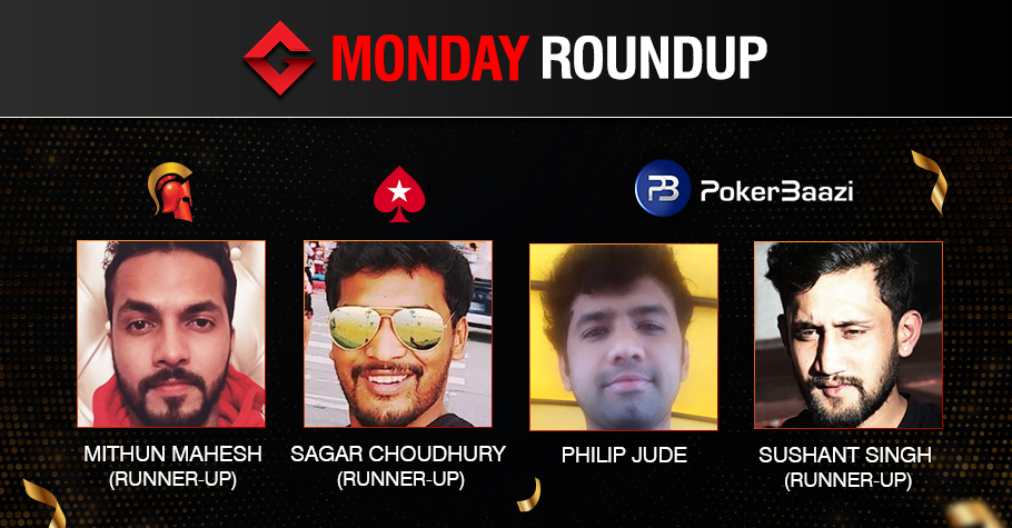 Monday Roundup: Philip Jude ships The Bout on PokerBaazi!