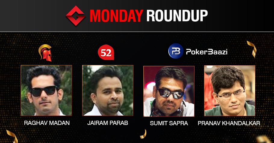 Monday Roundup: Sumit Sapra bags consecutive titles!