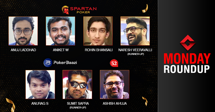 Monday Roundup: Laddhad, Aniket, Srivastava, Ahuja claim titles!