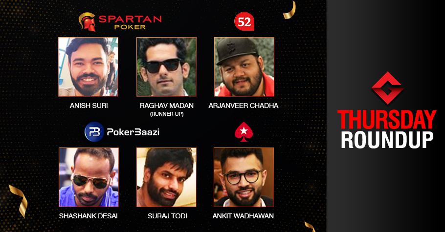 Wednesday Roundup: Suri, Todi, Desai, Chadha, Wadhawan claim big!