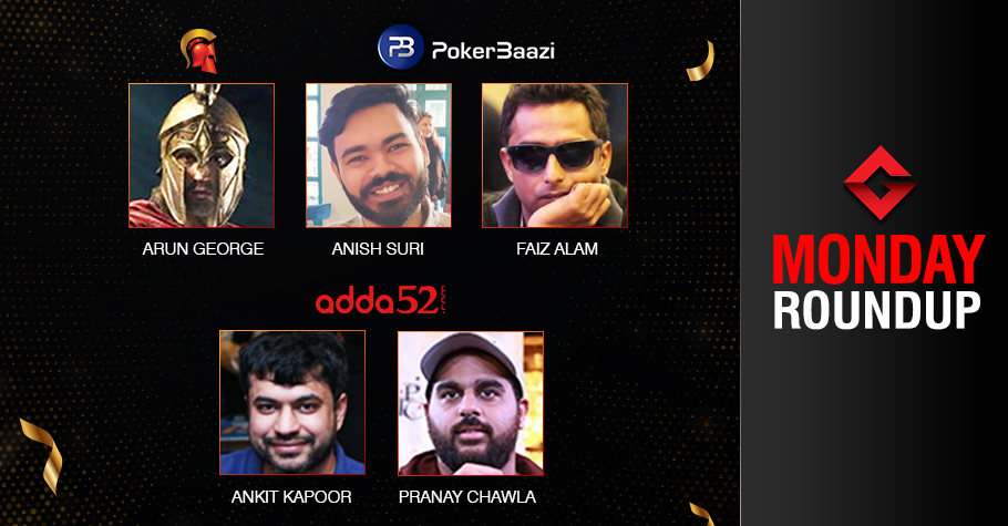 Monday Roundup: George, Suri, Kapoor, Chawla secure titles!
