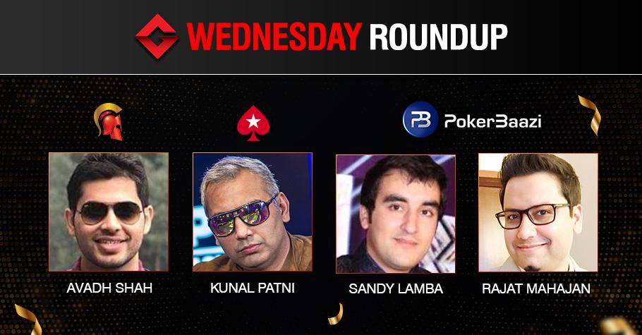 Wednesday Roundup: Shah, Lamba, Mahajan, Patni claim big!