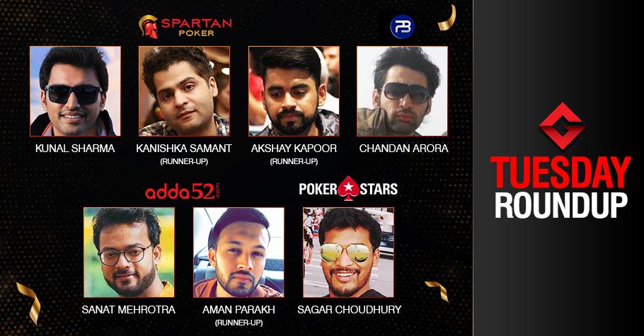 Tuesday Roundup: Sharma, Arora, Mehrotra, Choudhury ship events!