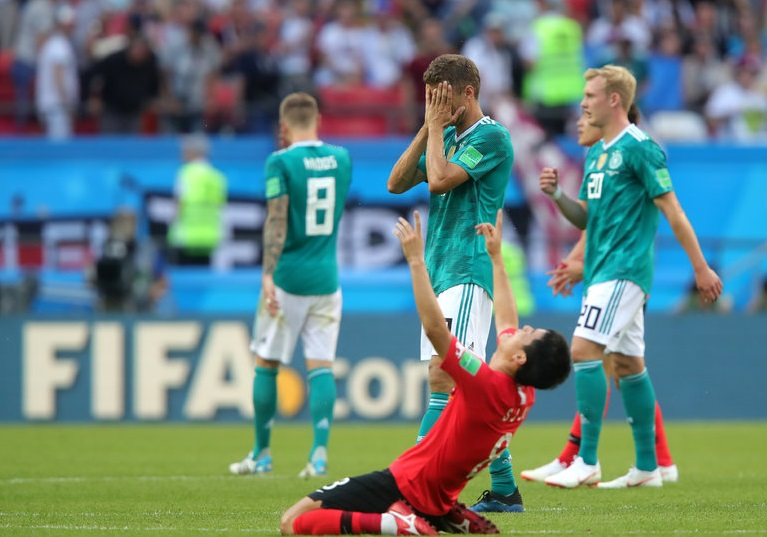 Germany suffer shock exit from 2018 World Cup