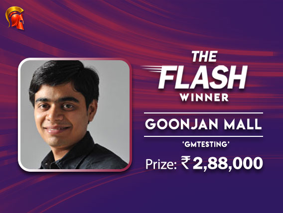 Goonjan Mall tops tough field to win The Flash on Spartan